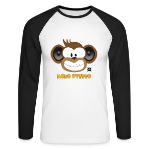 Mono Stereo LS Retro Man - Men's Long Sleeve Baseball T-Shirt