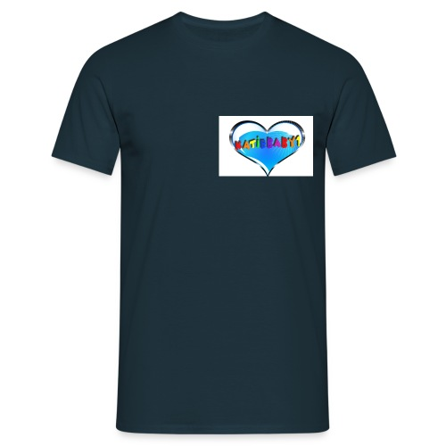katiebaby1 heart top - Men's T-Shirt