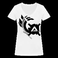 T-Shirts ~ Women's V-Neck T-Shirt ~ Logo Claws Alex Corsi TS Woman