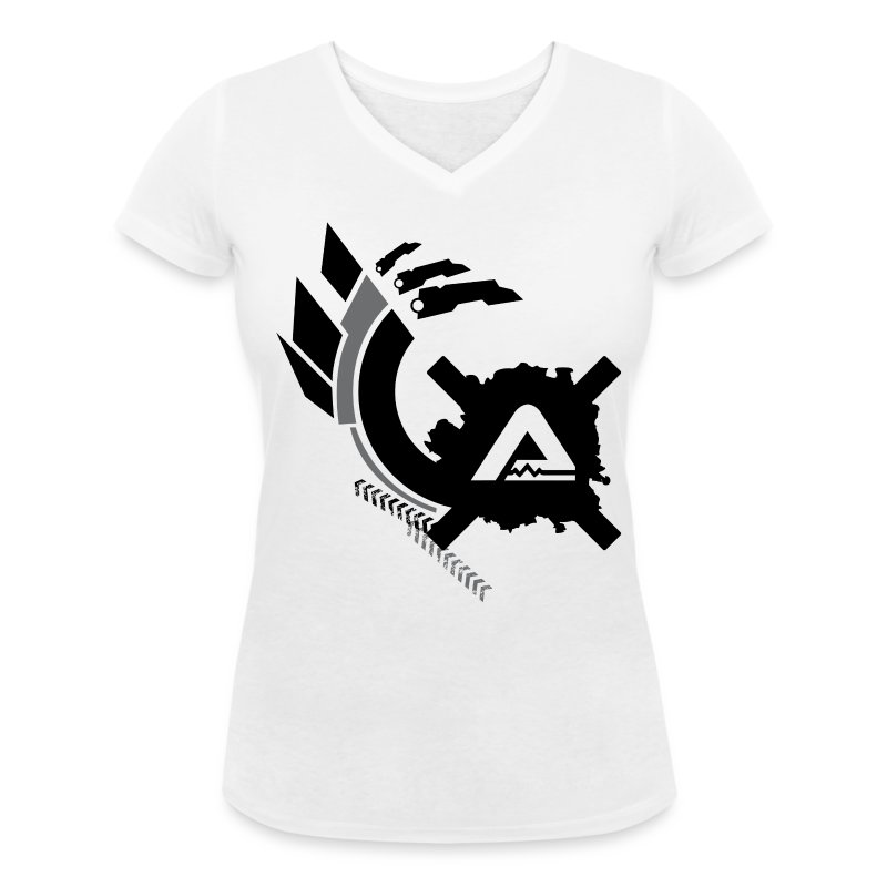 Logo Claws Alex Corsi TS Woman - Women's V-Neck T-Shirt