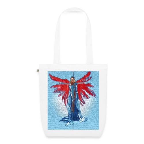 Tote bag pole-dance crucifix red - Sac en tissu biologique