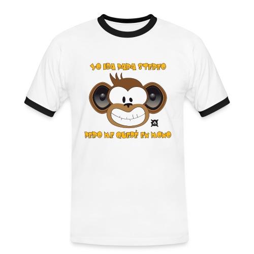 Mono Stereo Frase TS Man - Men's Ringer Shirt