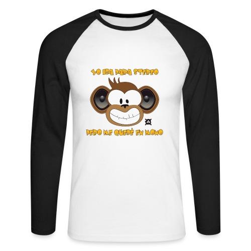 Mono Stereo Frase LS Man - Men's Long Sleeve Baseball T-Shirt