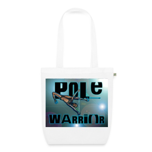 Tote bag pole-dance warrior blue - Sac en tissu biologique