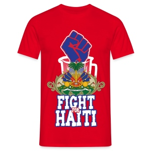 Fight For Haiti - Maglietta da uomo