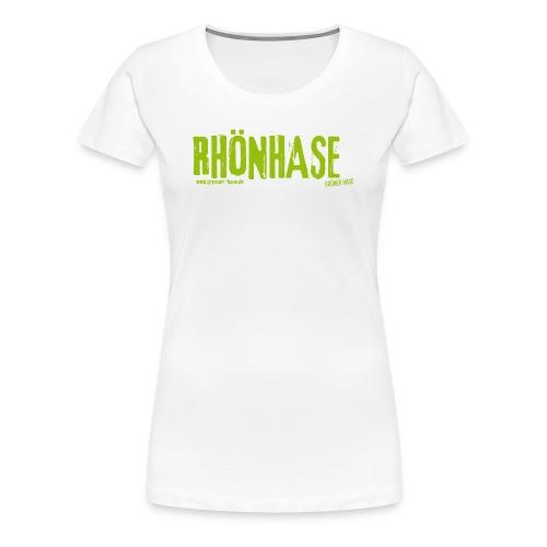 RHÖNHASE - wenn´s  warm draußen ist - Frauen Premium T-Shirt