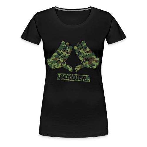 T shirt femme Mickey Hand Camo - T-shirt Premium Femme