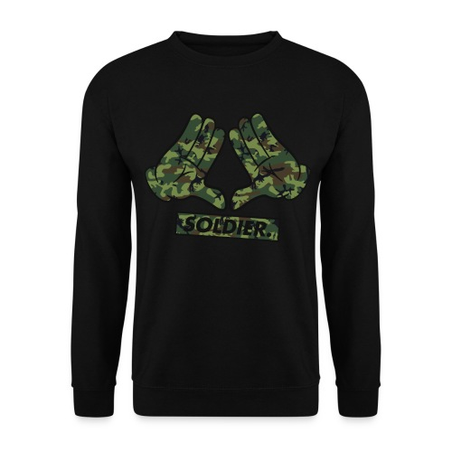 Mickey Hand Camo Sweat - Sweat-shirt Homme