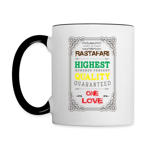 rasta breakfast - Mug contrasté