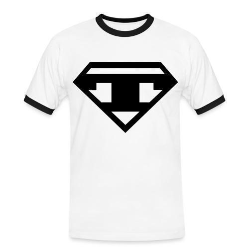 Contrast - Black T - Men's Ringer Shirt