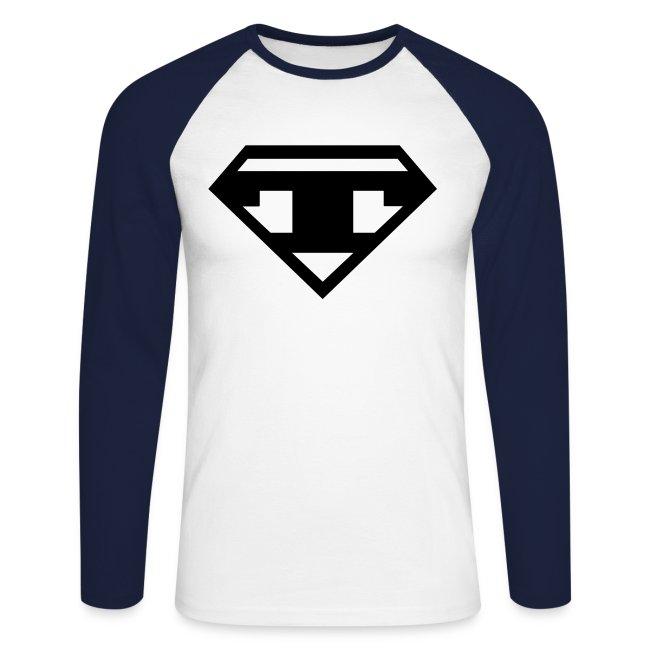 Baseballshirt LS - Black T
