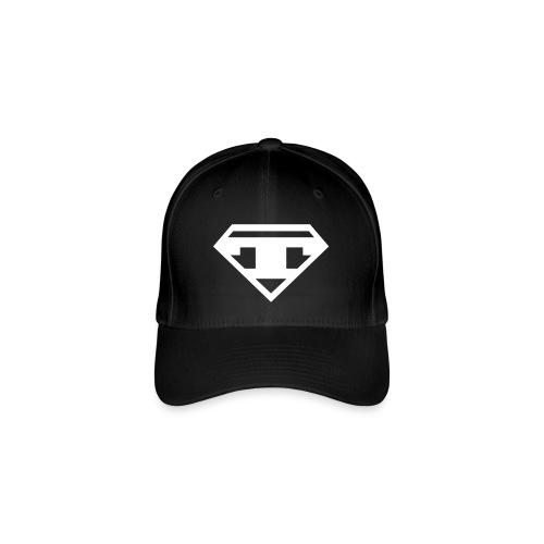 Twanneman Baseballcap Flexfit - White T - Flexfit Baseball Cap