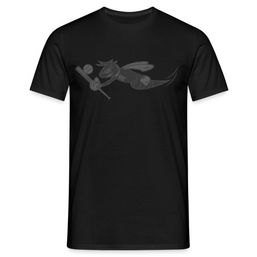 Black on Black Stinger - Männer T-Shirt