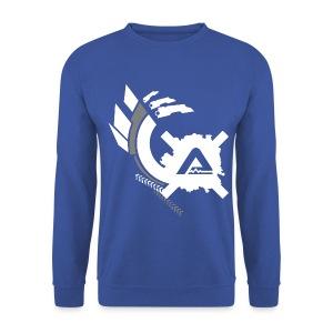 White Logo Claws LS Man - Men's Sweatshirt