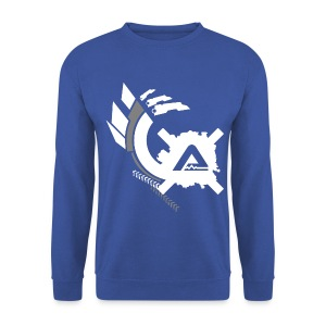 White Logo Claws LS Man - Men's Sweatshirt