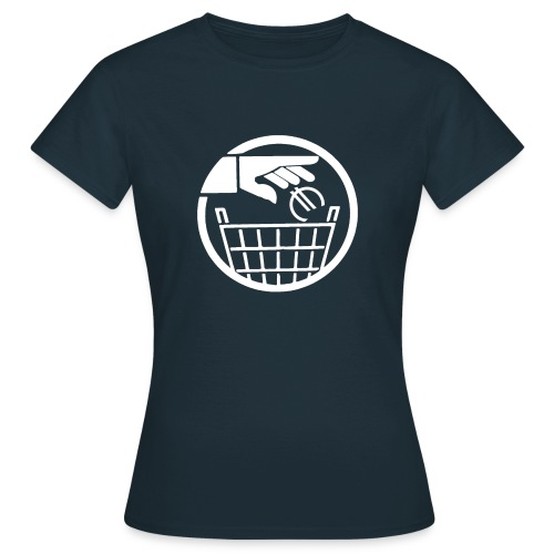 T-SHIRT standard femme euro poubelle - T-shirt Femme