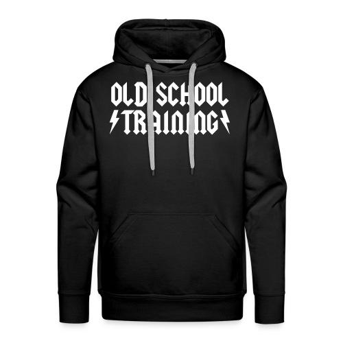 OLD SCHOOL TRAINING  - Sweat-shirt à capuche Premium pour hommes