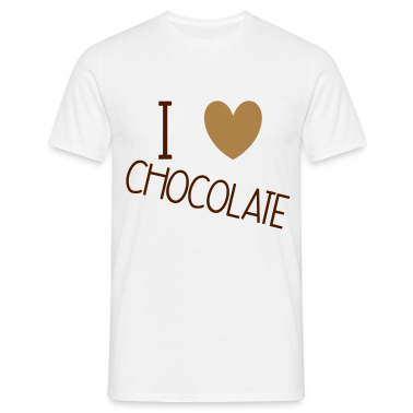 I Love Chocolate Camisetas