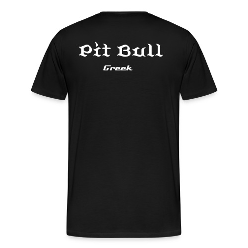 Pitbull T´shirt Greek - Männer Premium T-Shirt