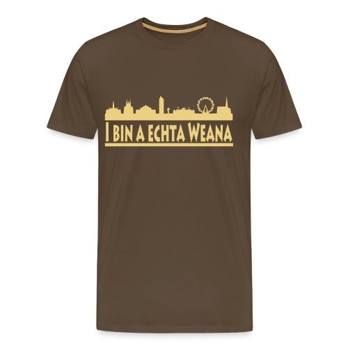 A echta Weana - Männer Premium T-Shirt