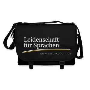 Messenger Bag Black - Umhängetasche