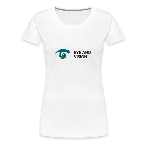 Eye and Vision Womens T-shirt - Women's Premium T-Shirt