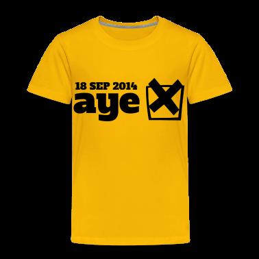 Vote Aye Shirts