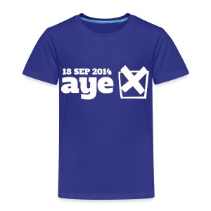 Vote Aye - Kids' Premium T-Shirt