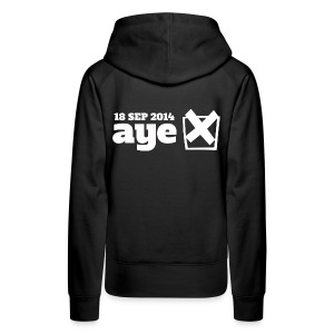 Vote Aye - Women's Premium Hoodie