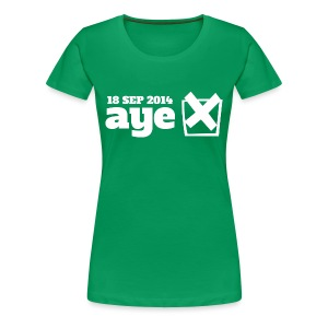 Vote Aye - Women's Premium T-Shirt