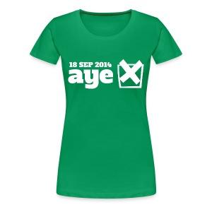 Vote Aye - Women's Premium T-Shirt