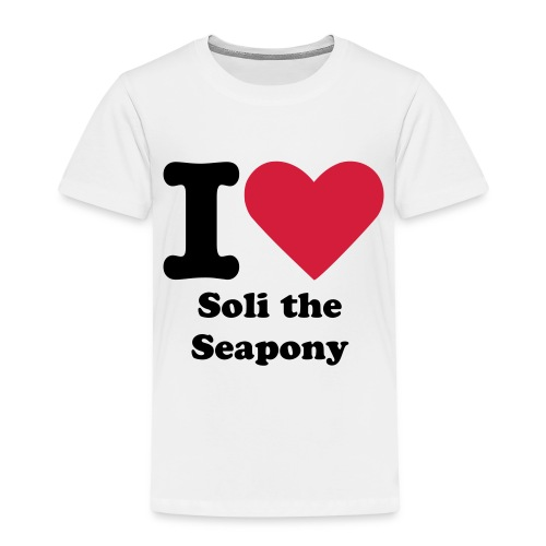 I Love Soli the Seapony T-Shirt Child Sizes - Kids' Premium T-Shirt