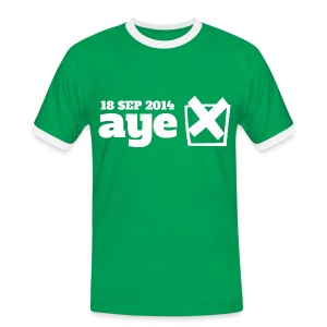 Vote Aye - Men's Ringer Shirt