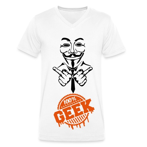 Geek Nymous - T-shirt bio col V Stanley & Stella Homme