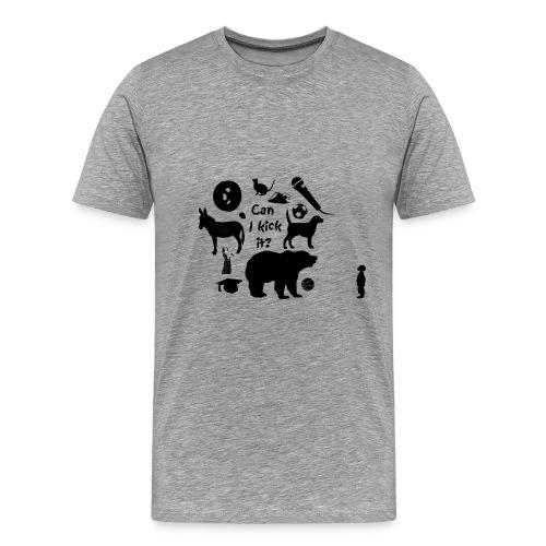 Innocence, Ignorance & Ambition.  - Men's Premium T-Shirt