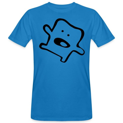 Hello Monster Blueman Boy - Men's Organic T-Shirt