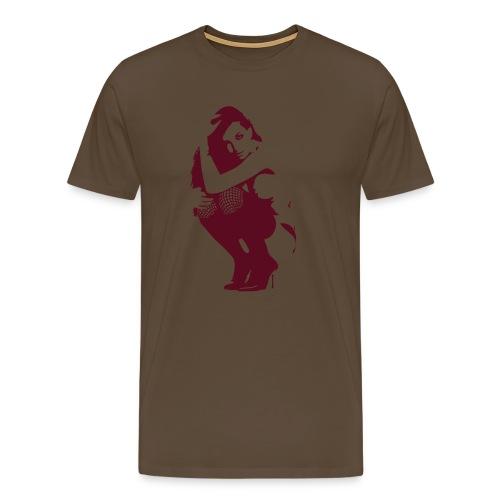 T-Shirt sexy khaki - Männer Premium T-Shirt