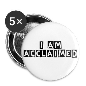 Acclaimed Apparel Button/Badge 5 Pack - Buttons large 56 mm