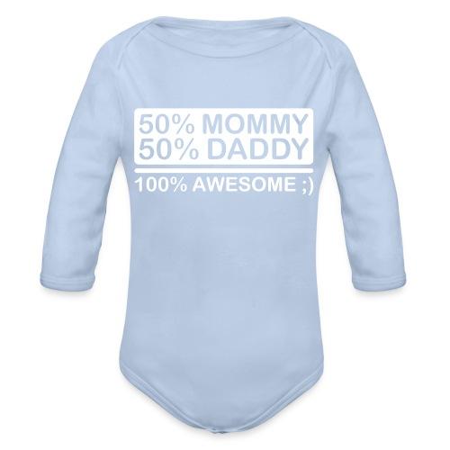 Unisex body for baby - Økologisk langermet baby-body