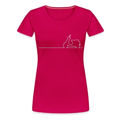 Vespa LX Linea - Frauen - Frauen Premium T-Shirt