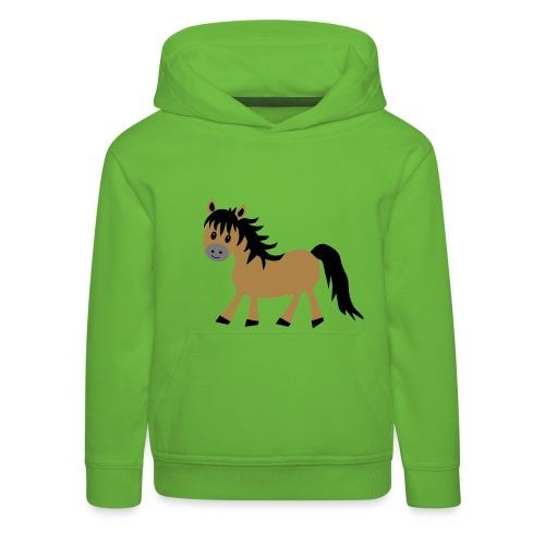 Cute Pony Kids Hoodie - Kids' Premium Hoodie