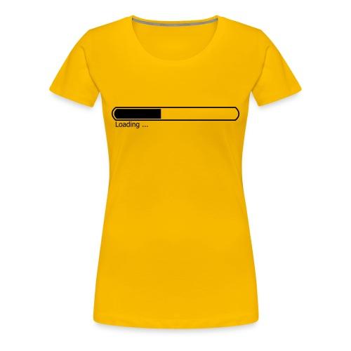 TSHIRT LOADING FEMME - T-shirt Premium Femme