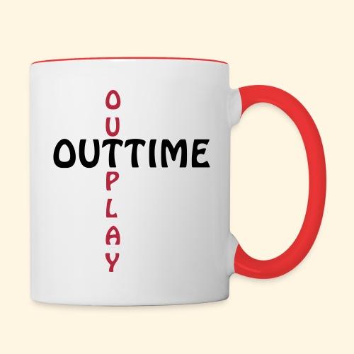 Tasse - Outtime - Tasse zweifarbig