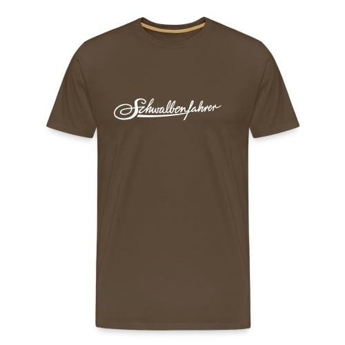 Schwalbenfahrer Basic-Shirt - Männer Premium T-Shirt