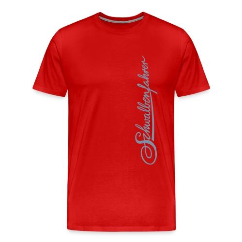 Logo Maxi Basic-Shirt - Männer Premium T-Shirt