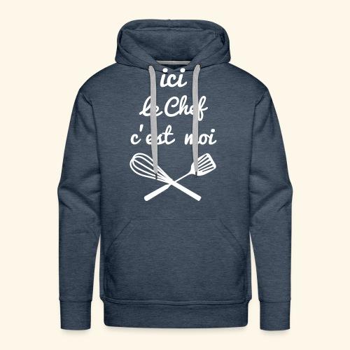 chef cuisinier - Sweat-shirt à capuche Premium pour hommes