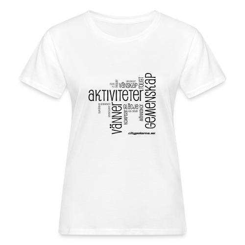 Ekologisk T-shirt dam