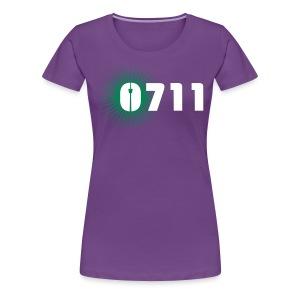 DAMEN-SHIRT 0711-STAR - Frauen Premium T-Shirt