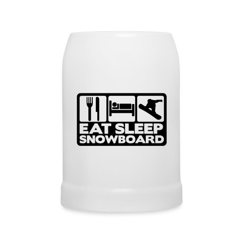 Bierkrug - Snowboard Bierkrug