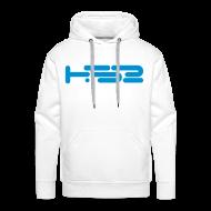 Hoodies & Sweatshirts ~ Men's Premium Hoodie ~ Mens White Hoodie
